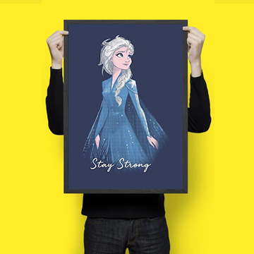 Stay Strong - Elsa - Wall Hangings