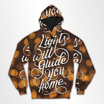 Light Will Guide You Home All Over Hoodie & Sweatshirt