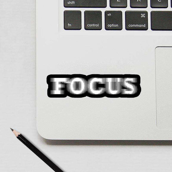 Focus - Cutout Sticker