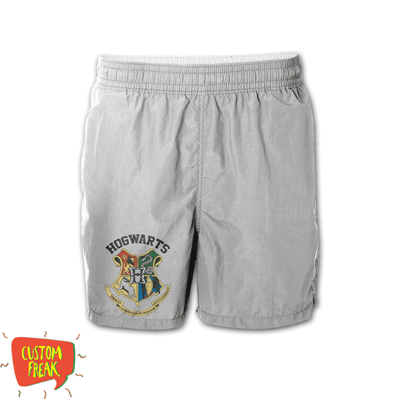 Hogwarts - Harry Potter - Graphic Printed Shorts