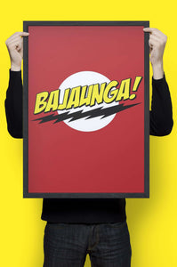 Bazinga - Wall Hangings