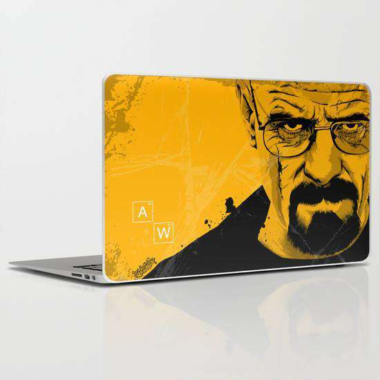 Laptop Skin Breaking Bad