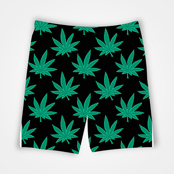 Weed - All Over Printed Shorts