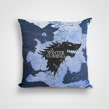 House Of Stark - Winter Coming - Game Of Thrones - Cushion