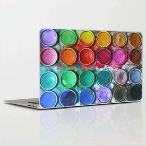 Laptop Skin Paint Abstract