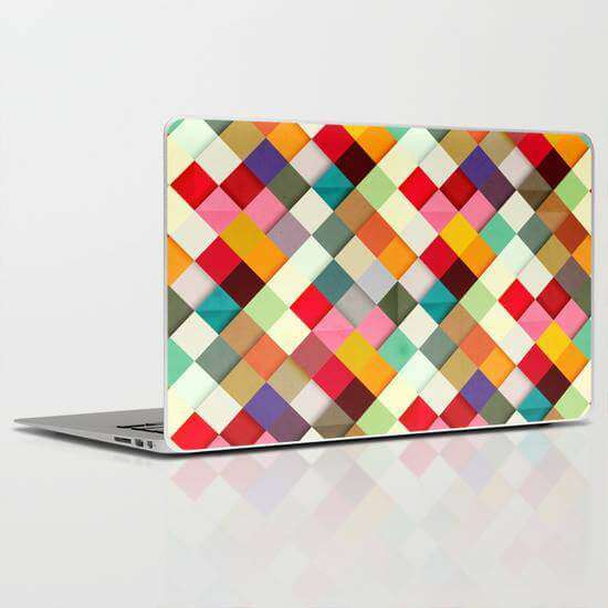 Laptop Skin Tile Pattern