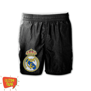 Real Madrid - Graphic Printed Shorts