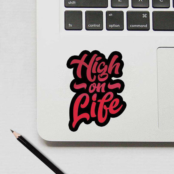 High On Life - Cutout Sticker