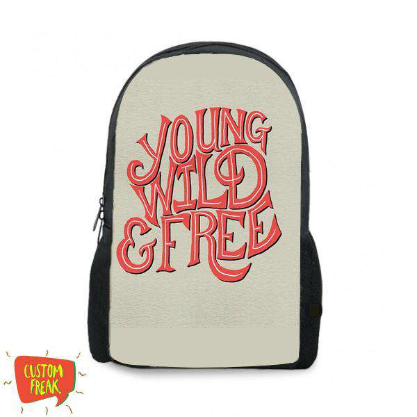 Young Wild And Free - Backpack