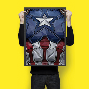 Captain America - Wall Hangings
