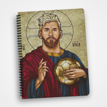 Lionel Messi - Notebook