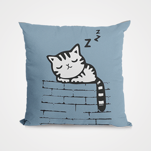 Sleepy Cat  - Cushion