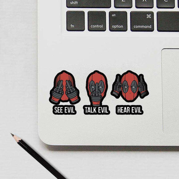 Deadpool - Cutout Sticker
