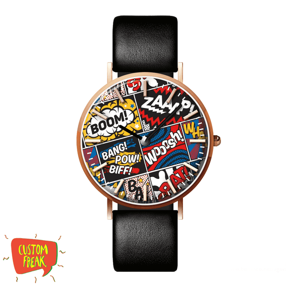 Modern Comic - Wrist Watch