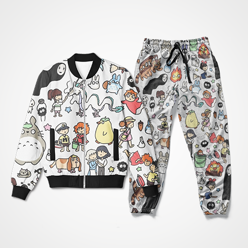 Pusheen Collage - Track Suit