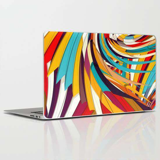 Laptop Skin Repeat Pattern