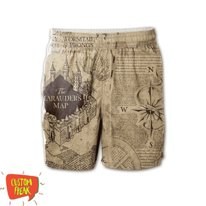 Harry Potter - Mischief Managed - All Over Printed Shorts