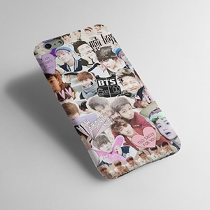 BTS Collage - Cell Cover