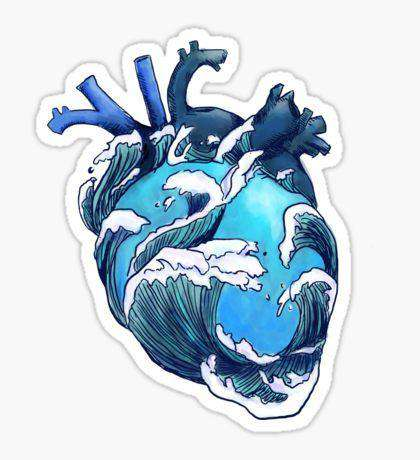 Heart - Cutout Sticker