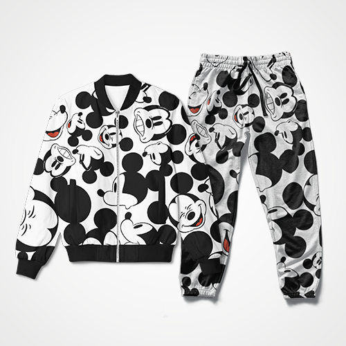 Mickey Mouse Collage - Track Suit