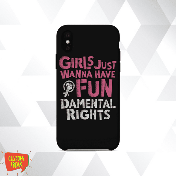 Girls Rights - Feminist - Cell Cover - Cell Cover
