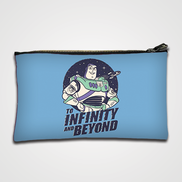 To Infinity and Beyound - Zipper pouch