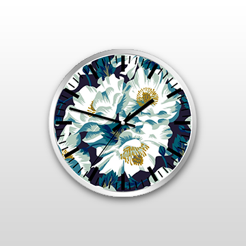 Floral - Wall Clock