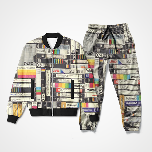 Books Abstract - Track Suit