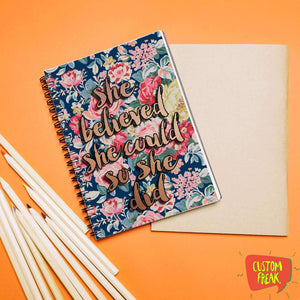 She Believe In Yourself So She Did - Notebook