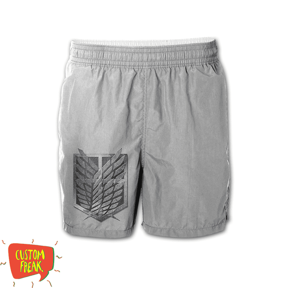 Attack On Titan - Graphic Printed Shorts