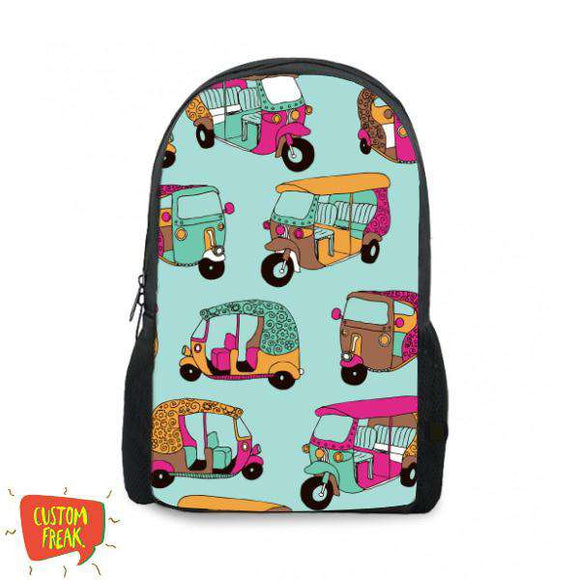 Rickshaw Pattern - Backpack