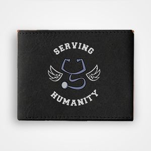 Serving Humanity - Graphic Printed Wallets