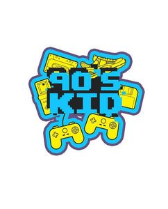 90s Kid - Cutout Sticker