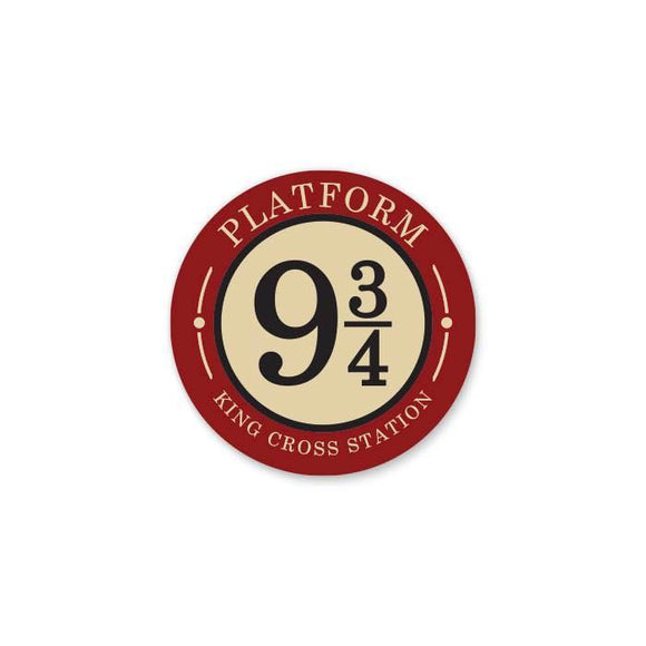 Platform 9 3/4 King Cross Station - Cutout Sticker