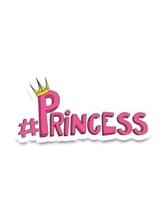 #Princess - Cutout Sticker