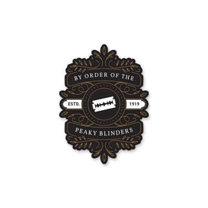 By Order Of The Peaky Blinders - Cutout Sticker