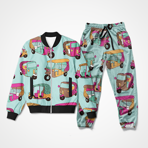 Rickshaw Collage - Track Suit