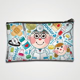 Hospital Collage - Zipper pouch