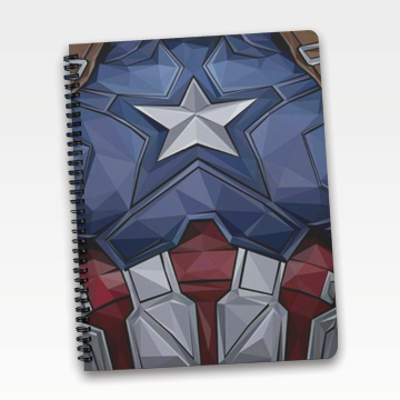 Captain America - Notebook