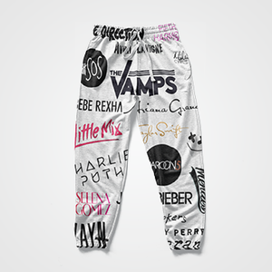 SALE -  The Vamps  - All Over Sweat Pants