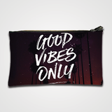 Good Vibes Only - Zipper pouch