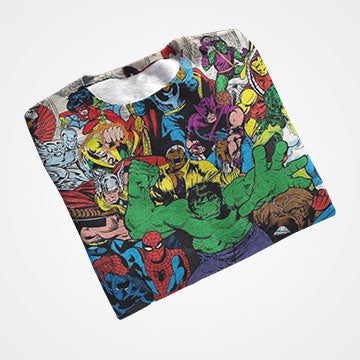 Marvel Comic - All Over Printed T-Shirts