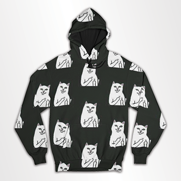 Cat Collage  -All Over Hoodie & Sweatshirt
