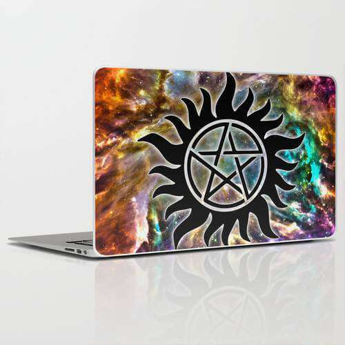 Laptop Skin Supernatural