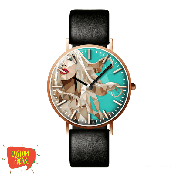 Abstract Girl - Wrist Watch