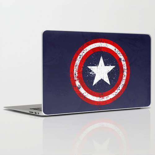 Laptop Skin Captain America
