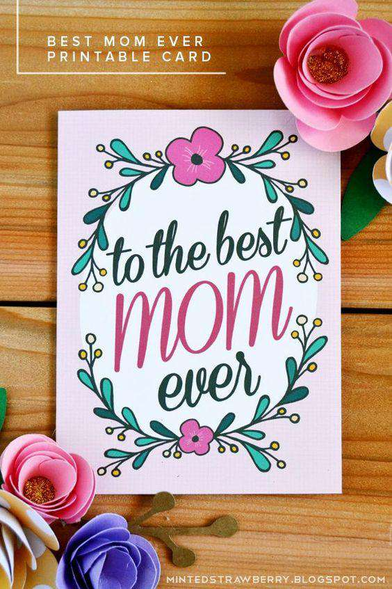 Mothers Day Greeting Card 01
