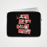 Mickey Mouse And Ducky - Laptop & Tablet Sleeve