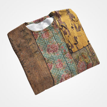 SALE - Wooden Abstract - All Over Printed T-Shirts
