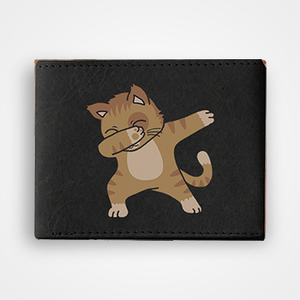 Cat Dab - Graphic Printed Wallets